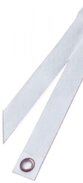 Gurtband mit Messingösen