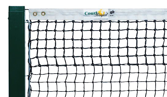 Tennisnetz 3,4 mm mit Doppelreihen
