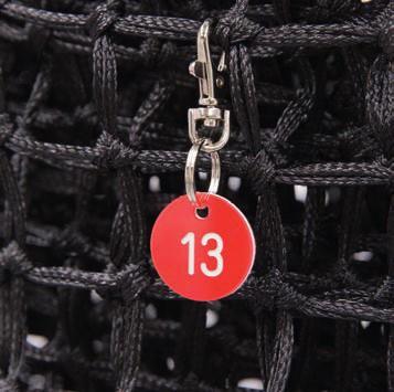 Tennisnetz-Nummerierung