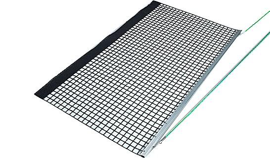 Alu-Schleppnetz PVC