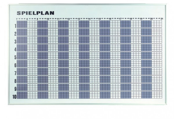 Tagesbelegungsplan