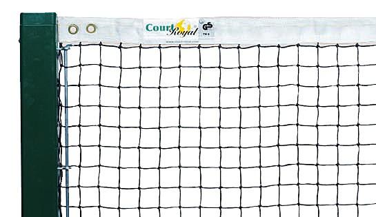 Tennisnetz 2,8 mm ohne Doppelreihen