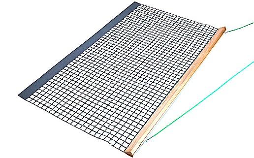 Holz-Schleppnetz PVC