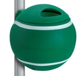 Papierkorb Tennisball