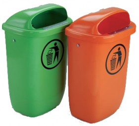 DIN-Abfallbehälter